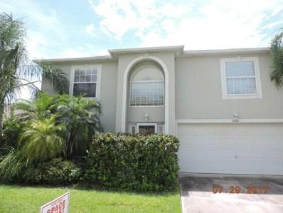 1666 SW Sawgrass Drive, Palm Bay, FL 32908 - MLS#: 813156