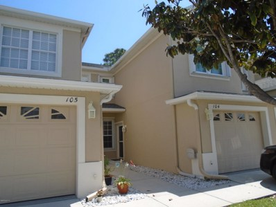 401 Trotter Lane UNIT 104, Melbourne, FL 32940 - MLS#: 813191