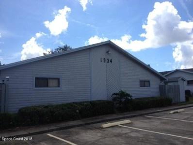 1934 Otterbein Avenue UNIT 302, Cocoa, FL 32926 - MLS#: 813818