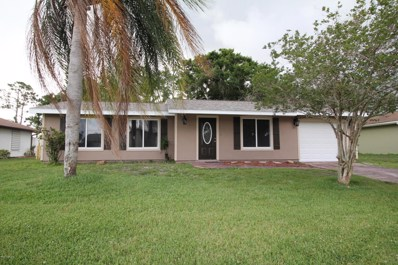 1558 Nebraska Street, Palm Bay, FL 32907 - MLS#: 814013