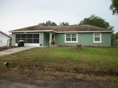 122 Bonfire Avenue, Palm Bay, FL 32907 - MLS#: 814384