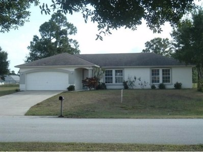 1198 Douglas Street, Palm Bay, FL 32909 - MLS#: 815157