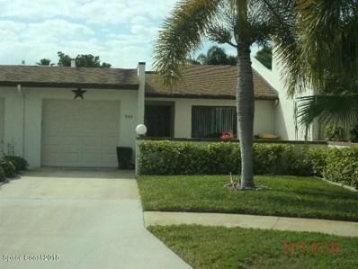 343 Markley Court, Indian Harbour Beach, FL 32937 - MLS#: 815188