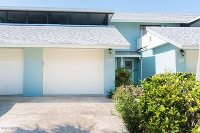 33 Cove Road UNIT 33, Melbourne Beach, FL 32951 - MLS#: 815281