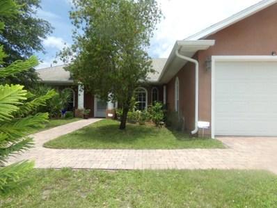1067 SE Webster Road, Palm Bay, FL 32909 - MLS#: 815379
