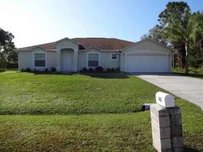 142 Brescia Street, Palm Bay, FL 32907 - MLS#: 815513