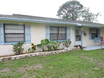 6444 Pleasant Avenue, Cocoa, FL 32927 - MLS#: 815796