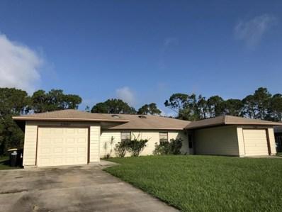 2566 Hester Avenue UNIT A, Palm Bay, FL 32909 - MLS#: 815817