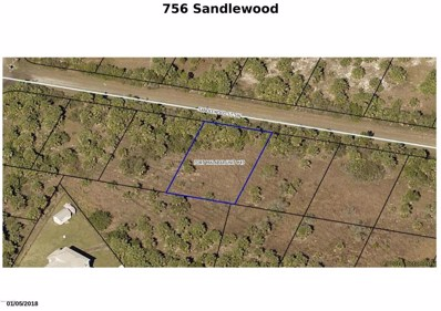756 Sandlewood Street, Palm Bay, FL 32908 - MLS#: 815911
