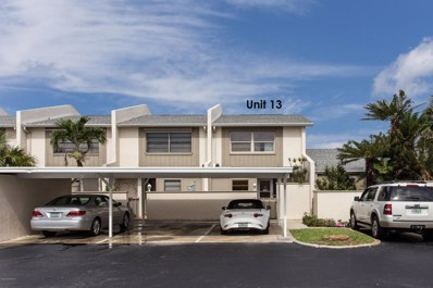 142 Palmetto Avenue UNIT 13-2, Indialantic, FL 32903 - MLS#: 816053