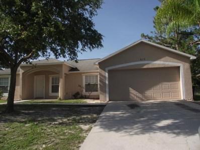 816 Universe Street, Palm Bay, FL 32907 - MLS#: 816154