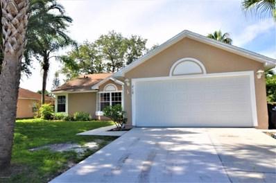 712 NW Norse Street, Palm Bay, FL 32907 - MLS#: 816244