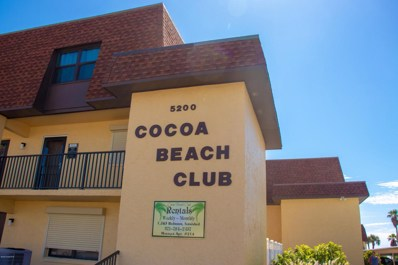 5200 Ocean Beach Boulevard UNIT 208, Cocoa Beach, FL 32931 - MLS#: 816445