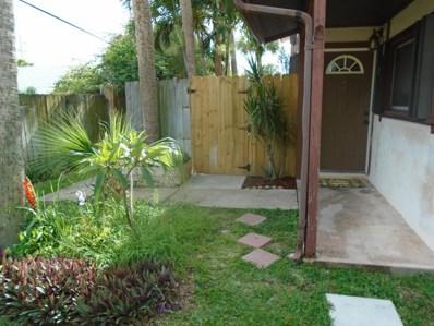 595 Park Avenue UNIT 2, Satellite Beach, FL 32937 - MLS#: 816665