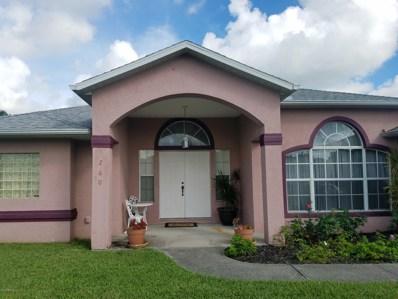 1260 Emerson Drive, Palm Bay, FL 32907 - MLS#: 816898