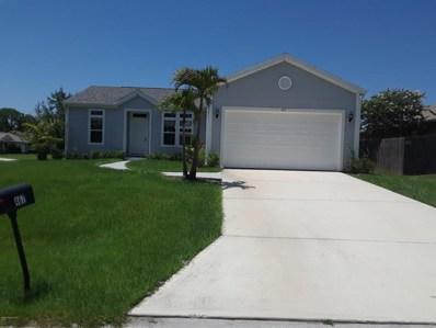 467 Entrada Street, Palm Bay, FL 32909 - MLS#: 817559