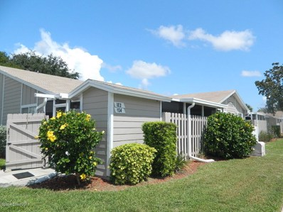 1937 Quail Ridge Court UNIT 104, Cocoa, FL 32926 - MLS#: 818264