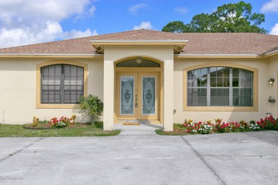 581 NE Klamath Street, Palm Bay, FL 32907 - MLS#: 818330