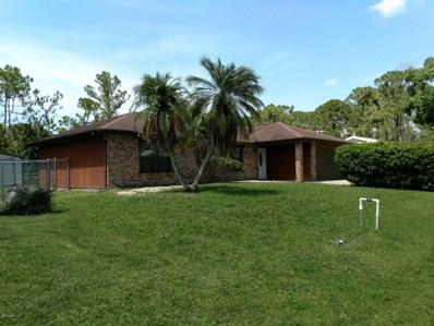 1631 SE Sardinia Street, Palm Bay, FL 32909 - MLS#: 818360