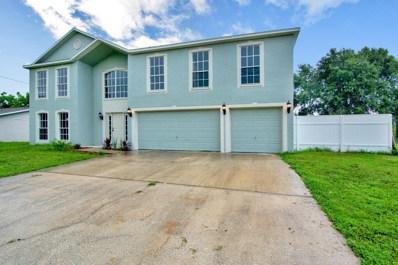 261 Bougainvillea Street, Palm Bay, FL 32907 - MLS#: 818542