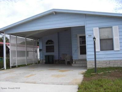 562 Marlin Circle UNIT 1, Barefoot Bay, FL 32976 - MLS#: 818726