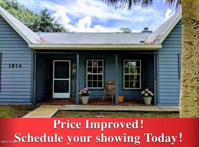 1814 N Laurel Oak Drive, Rockledge, FL 32955 - MLS#: 818993