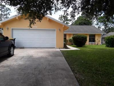 1776 Nanton Street, Palm Bay, FL 32907 - MLS#: 819015