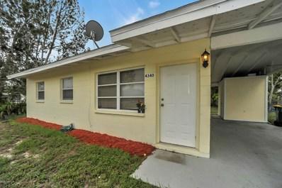 4340 Maxwell Drive, Melbourne, FL 32935 - MLS#: 819053