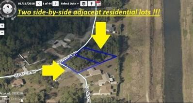 **Two Adjacent Lots**On Seeley Circle, Palm Bay, FL 32907 - MLS#: 819373