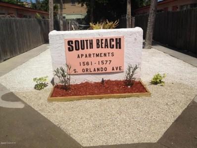 1575 S Orlando Avenue UNIT 7, Cocoa Beach, FL 32931 - MLS#: 819542