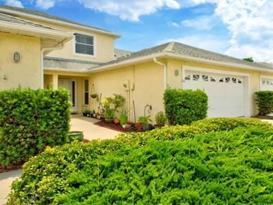 834 Poinsetta Drive UNIT 0, Indian Harbour Beach, FL 32937 - MLS#: 819599