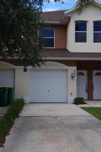 1030 Venetian Drive UNIT 202, Melbourne, FL 32904 - MLS#: 819751