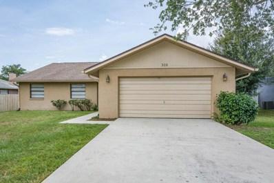 305 Woods Lake Drive, Cocoa, FL 32926 - MLS#: 819774
