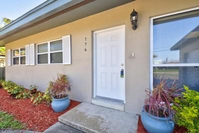 174 Antigua Drive, Cocoa Beach, FL 32931 - MLS#: 819794