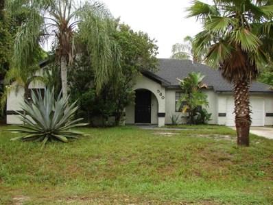 580 Escobar Avenue, Palm Bay, FL 32907 - MLS#: 819827