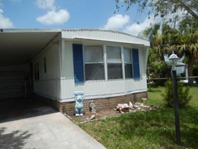 624 Marlin Circle, Barefoot Bay, FL 32976 - MLS#: 820122