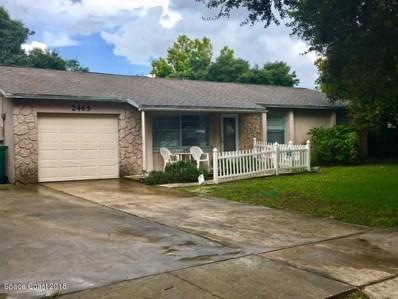 2465 E Sherwood Circle, Cocoa, FL 32926 - MLS#: 820135
