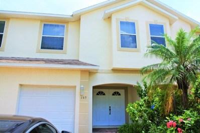 165 King Neptune Lane, Cape Canaveral, FL 32920 - MLS#: 820388