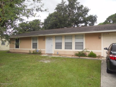 2424 Emerson Drive, Palm Bay, FL 32909 - MLS#: 820423