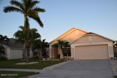 1847 Abbeyridge Drive, Merritt Island, FL 32953 - MLS#: 820700
