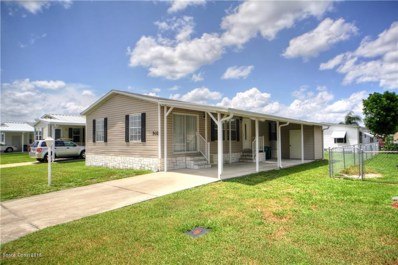 502 Puffin Drive, Barefoot Bay, FL 32976 - MLS#: 820735