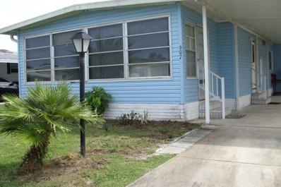 607 Royal Tern Drive, Barefoot Bay, FL 32976 - MLS#: 821223