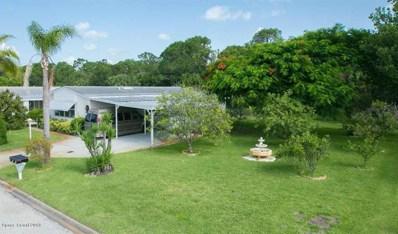 226 Kiwi Drive, Barefoot Bay, FL 32976 - MLS#: 821421