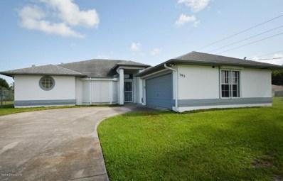 395 Sauders Road, Palm Bay, FL 32909 - MLS#: 821455