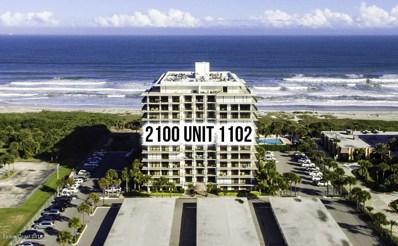 2100 N Atlantic Avenue UNIT 1102, Cocoa Beach, FL 32931 - MLS#: 821536