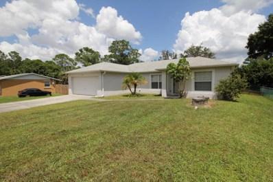 223 Aquarius Avenue, Palm Bay, FL 32909 - MLS#: 821753