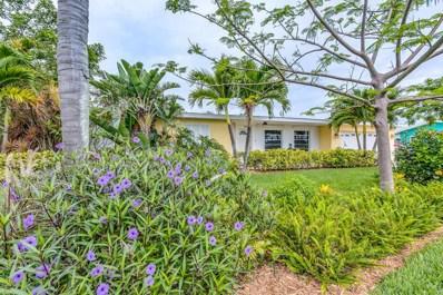 102 Mayaca Drive, Indian Harbour Beach, FL 32937 - MLS#: 821889