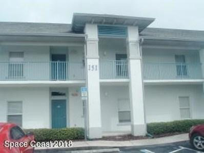 151 Portside Avenue UNIT 105, Cape Canaveral, FL 32920 - MLS#: 822117