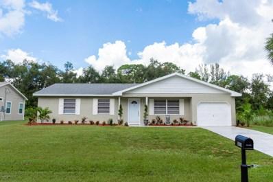 1070 Colonial Avenue, Palm Bay, FL 32909 - MLS#: 822269