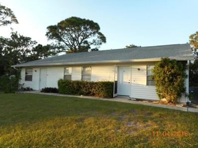 1961 Convair Street UNIT 101, Palm Bay, FL 32909 - MLS#: 822400